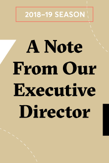 A Note from Our Executive Director
