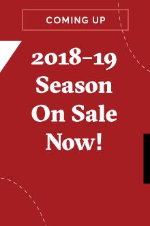 Announcing our 2018–19 season!