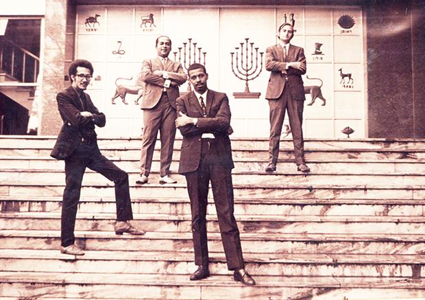 Chucho Valdés' quartet at the 1970 Jamboree Jazz Festival in Poland.