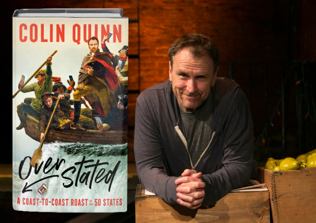 Colin Quinn: An Overstated Book Tour
