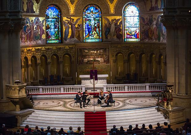 St. Lawrence String Quartet: Good Friday Liturgical Performance