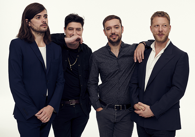Accepting the John Steinbeck Award: Mumford & Sons
