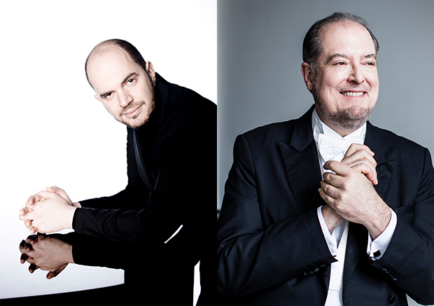 Garrick Ohlsson and Kirill Gerstein