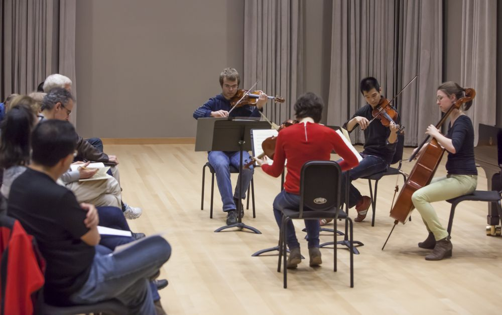 Emerson String Quartet Master Class | Stanford Live