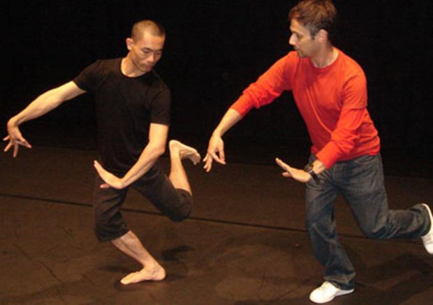 Jérôme Bel and classical Thai dance master Pichet Klunchun